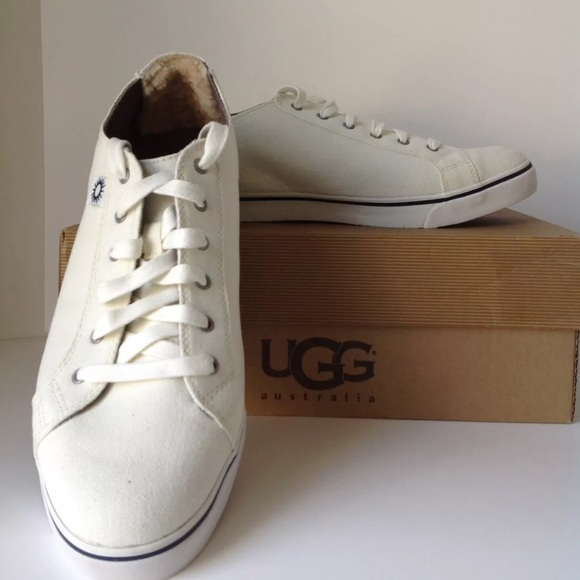 b39a3e82bfd UGG MEN'S SNEAKERS Vanowen Canvas shoes - 12 NWT